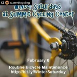 Repost summitcycling with repostapp February 06  Routine Bicycle Maintenancehellip