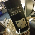 Scored the elusive power at the airport Yeah! dfw traveljoy