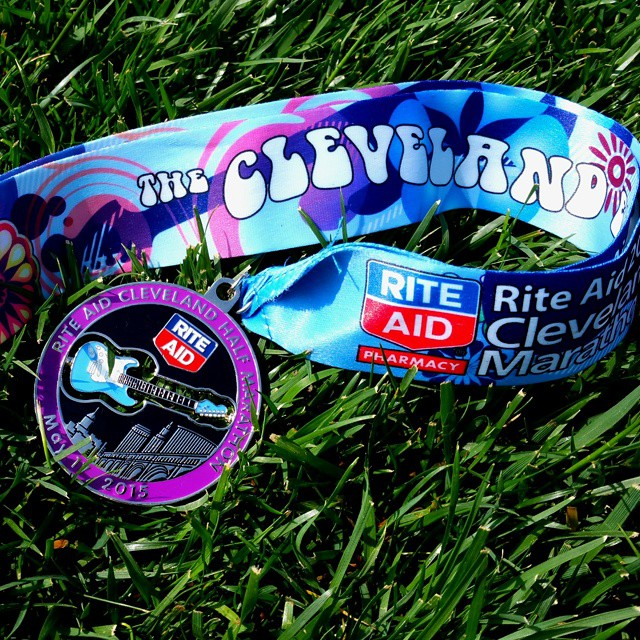 Rite Aid Cleveland half marathon in the books #running #halfmarathon #run #Cleveland #cle