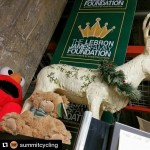 Repost summitcycling with repostapp So how did Elmo a teddyhellip