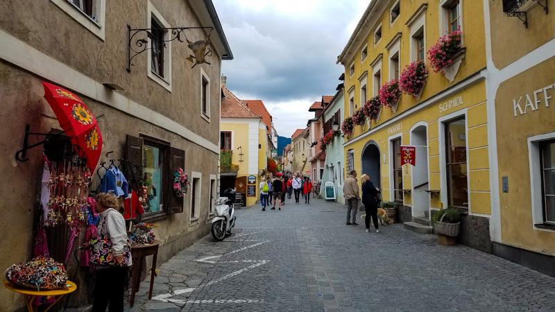 Street Scene in Durnstein, Austria