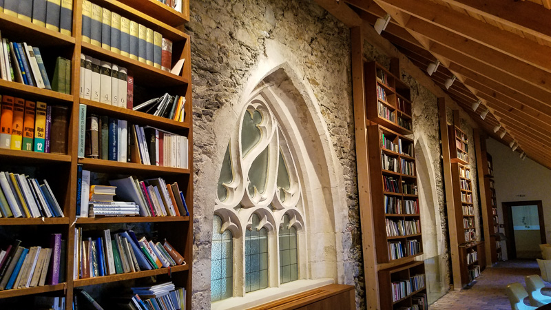 Library of the Carmelite Monastery