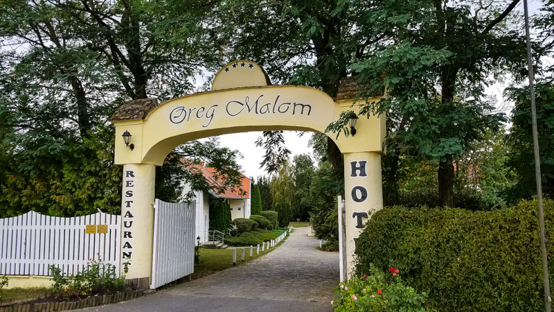 Öreg Malom Hotel in Csepreg, Hungary