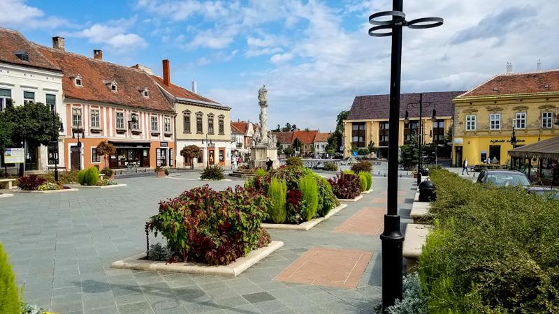 Koszeg Town Square