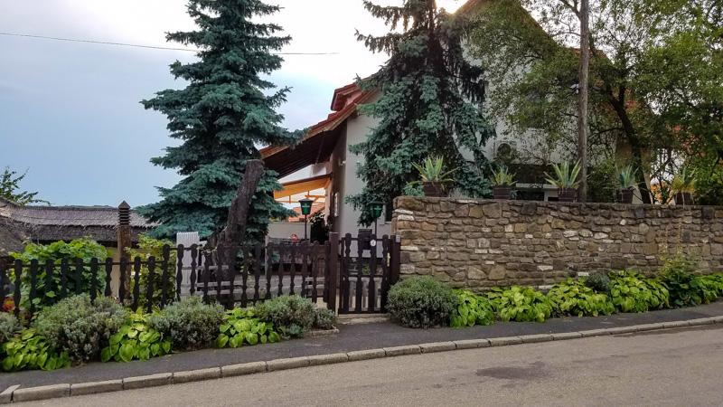 Viktória Inn in Tihany, Hungary