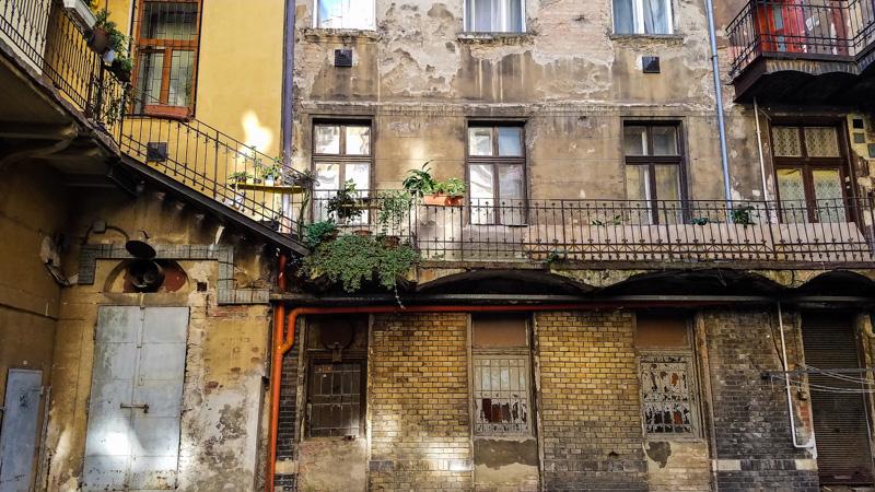 Budapest Jewish Quarter Back Alley