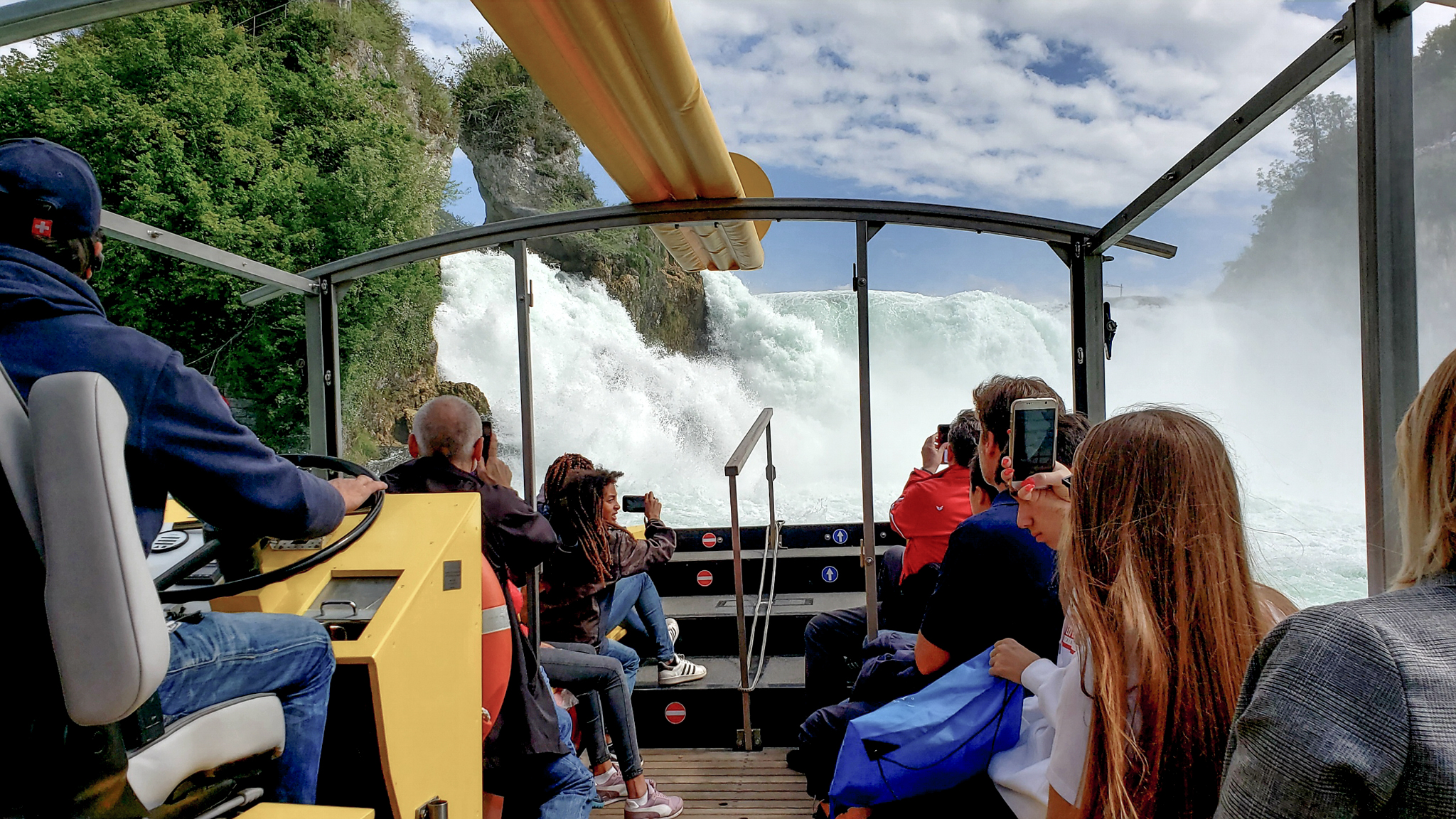 10-August-2019 To the brink of Rhein Falls