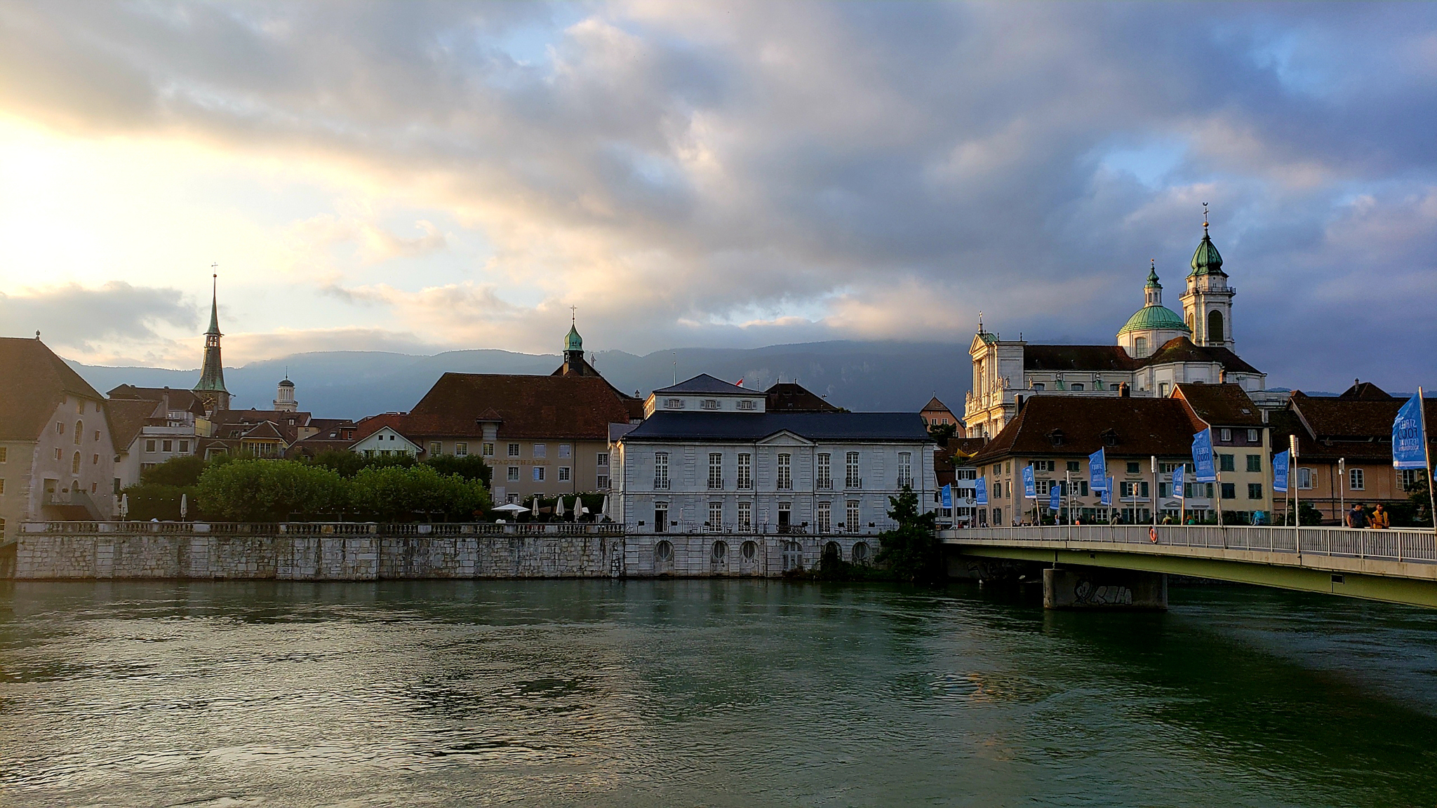 22-August-2019 Sunset in Solothurn