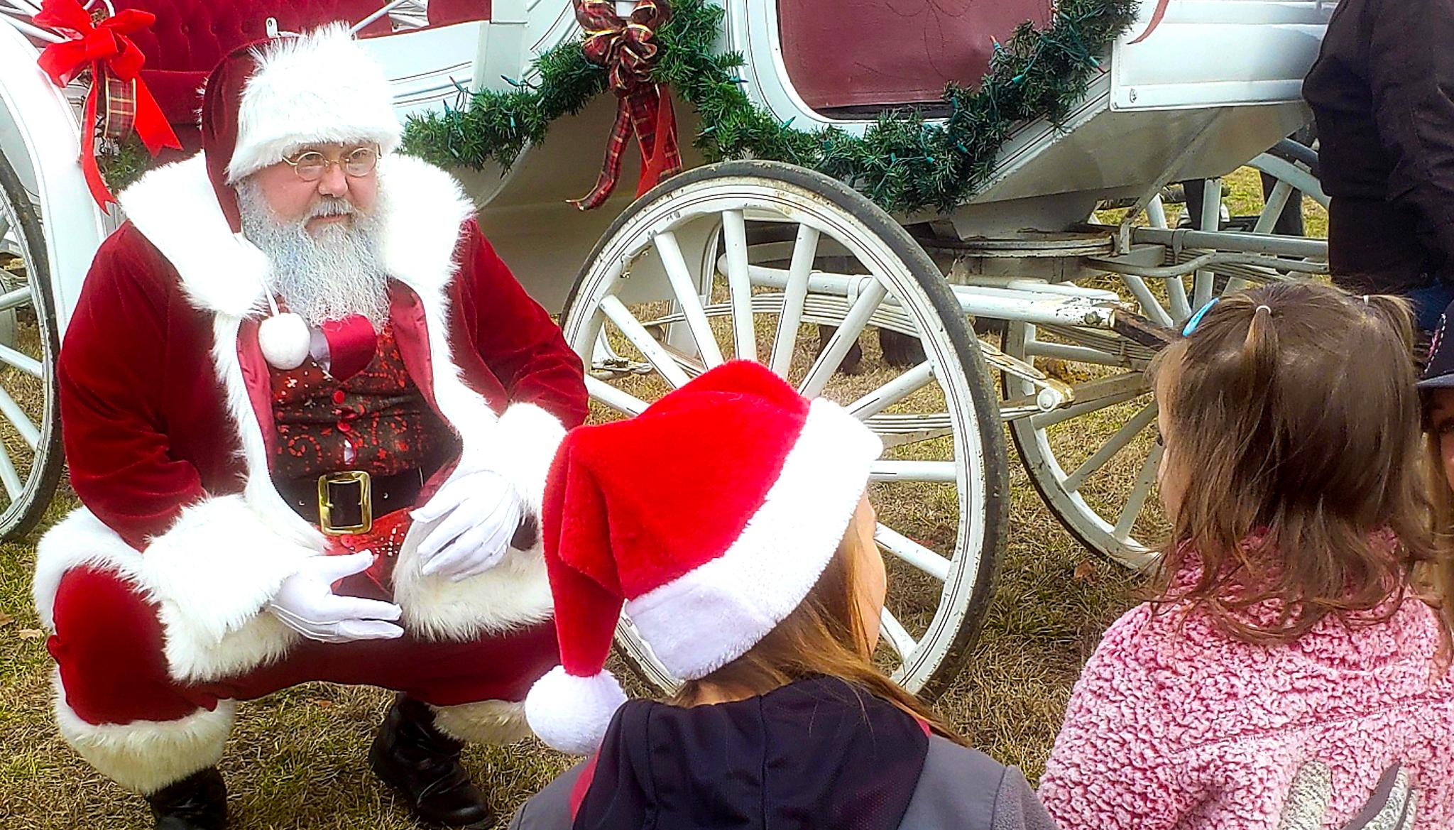 8-December-2019 A visit with Santa