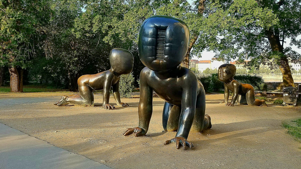 Babies at Museum Kampa