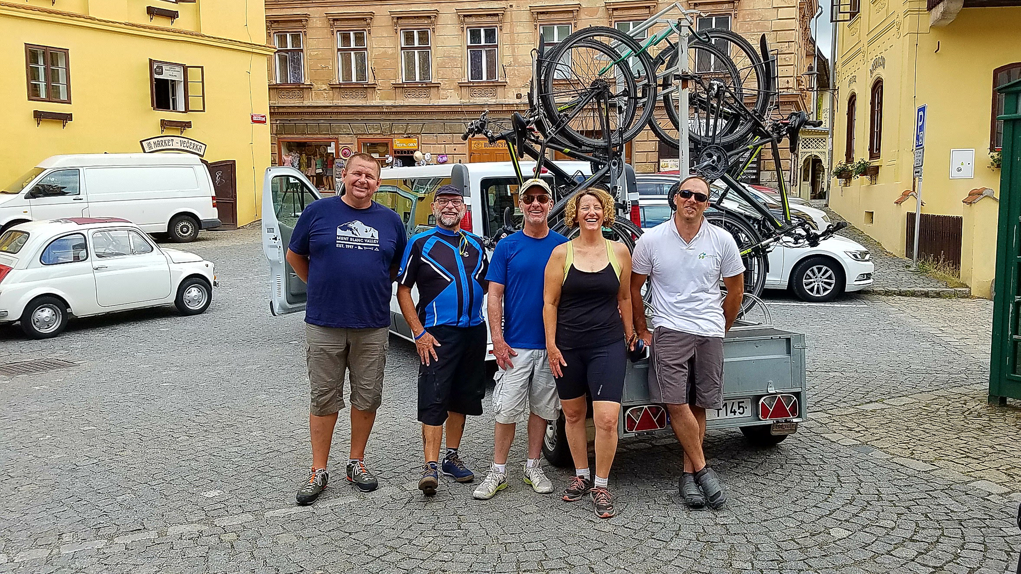 Czech Bike Tours in Cseky Krumlov