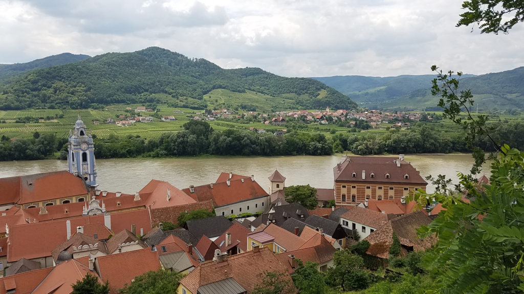 The Danube from Durnstein