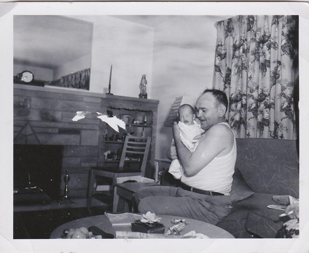 Jokie and Joe Bilcze, 1952
