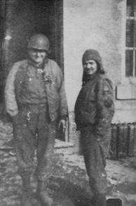 Mike Bilcze and Jokie Bilcze, Europe, WWII