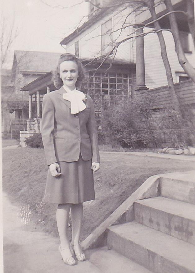 Marie Schott, Easter Sunday 1945